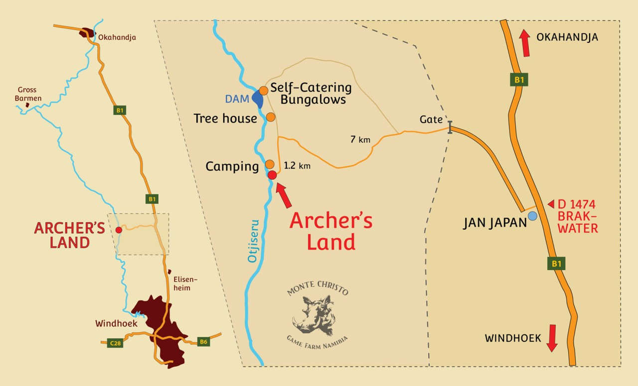New road to Archer's Land
